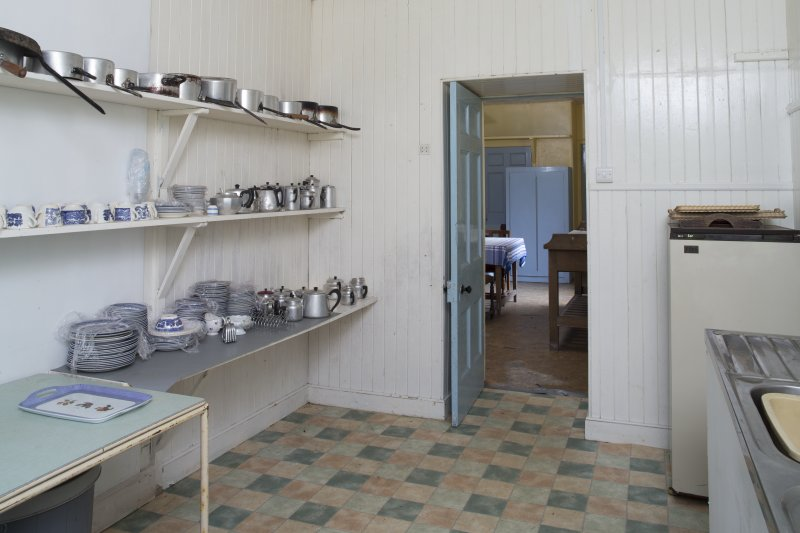 Ground Floor General view of Scullery.