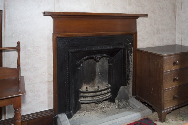 Second Floor General view of fireplace in bedroom 3.