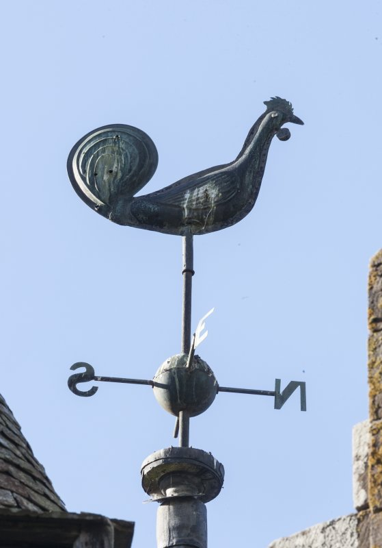 Detail of weather vane.