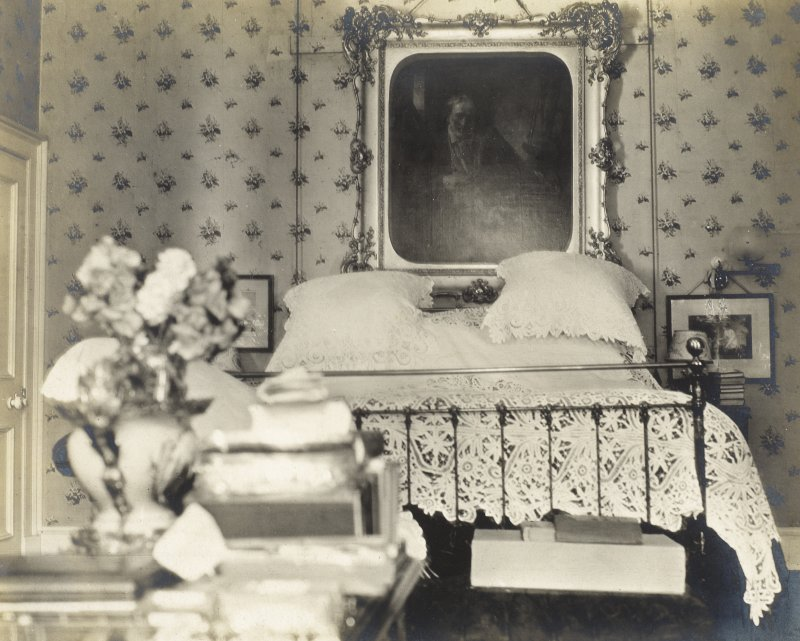View of interior at Balmacaan House. Titled: 'My bedroom'. PHOTOGRAPH ALBUM No.32: BALMACAAN ALBUM.