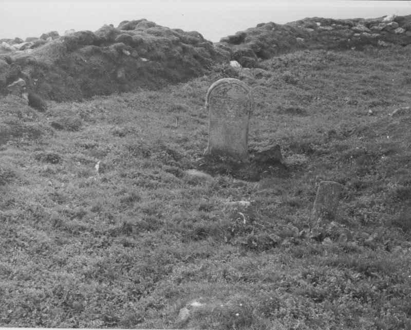 Ness shepherds stone, east face, June, 1980.