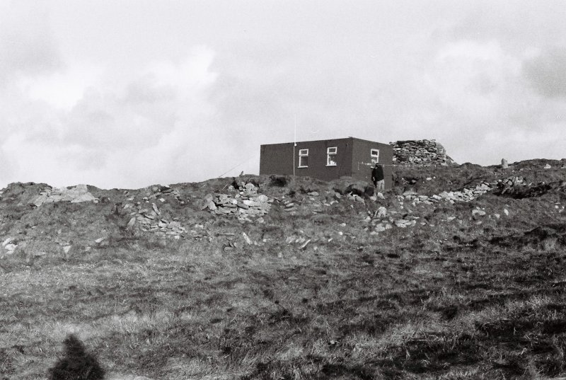 Township Group A & SMRU hut from SE, 1981.