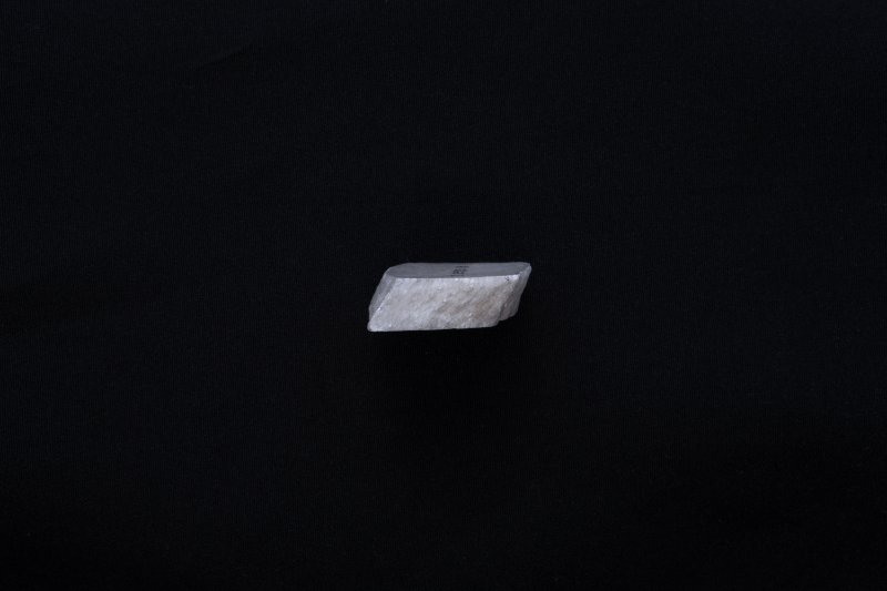 Section of fragment of marble sheet