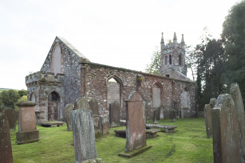 General view of parish church taken from the north.