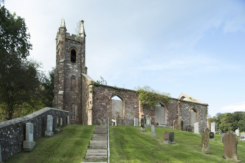 General view of parish church taken from the south east.