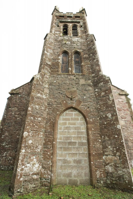 General view of parish tower taken from the south west.