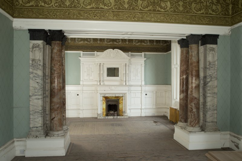Ground floor, drawing room, view from north