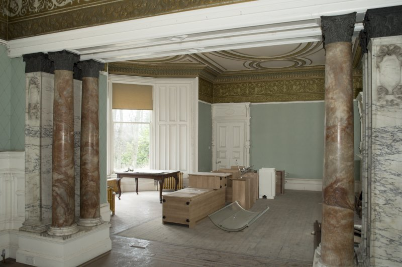 Ground floor, drawing room, view from south east