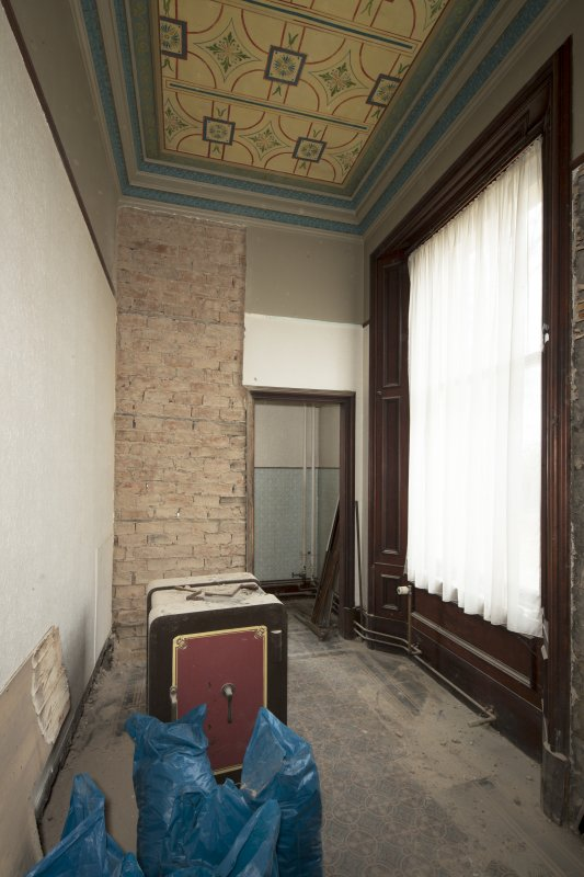 Ground floor, cloakroom, view from east