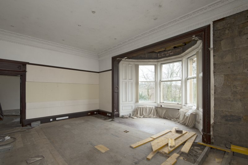 1st floor, master bedroom, view from north east
