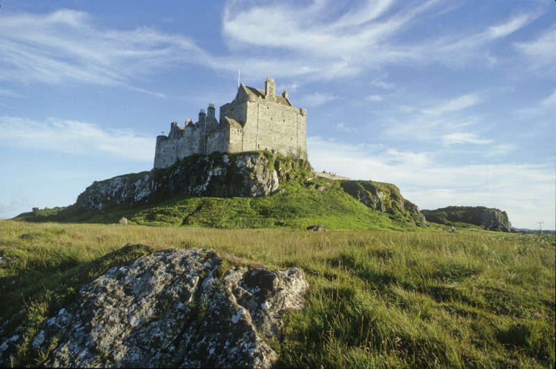 Duart Castle, seat of the Macleans of Duart. The earliest elements of the present structure date to the 13th century. (Colin Martin)