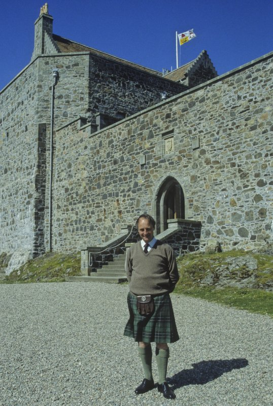 Sir Lachlan Maclean of Duart and Morvern, 28th Clan Chief. (Colin Martin)
