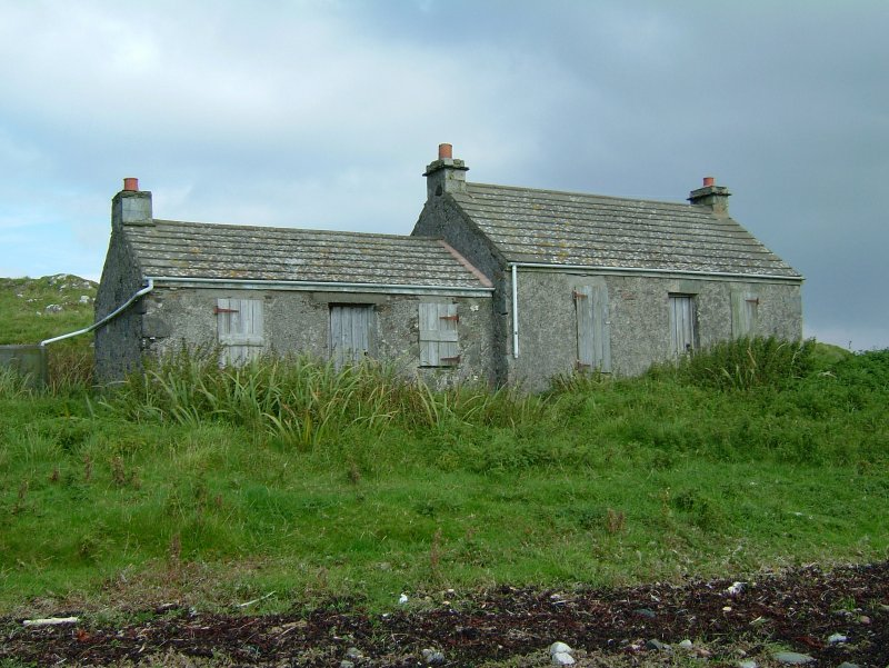 The two cottages, now a holiday home, were probably workers' bothies. (Paula Martin)