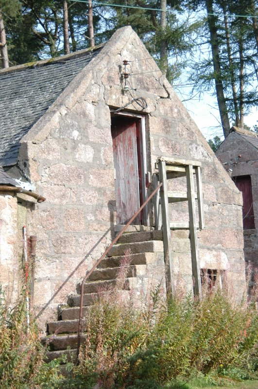 Photograph from Standing Building Recording at Glen Dye Steading, Glen Dye, Banchory, Aberdeenshire.
