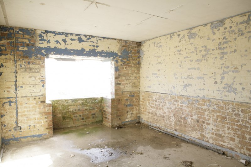 Image of Crail Airfield building 15 interior