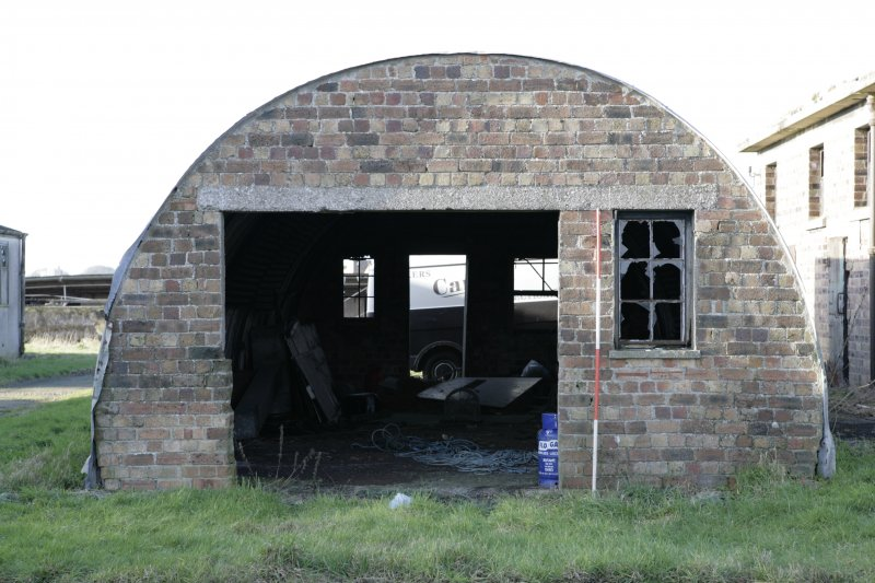 Image of Crail Airfield building 43 from the east