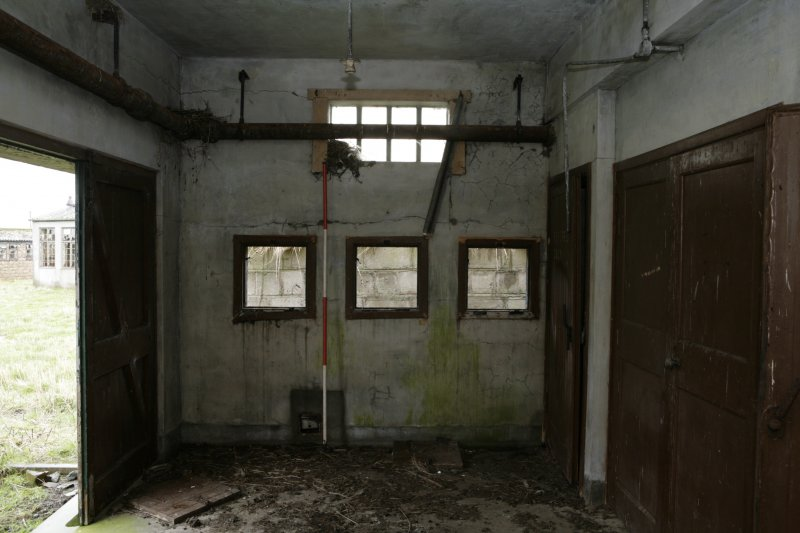 Image of Crail Airfield building 48 interior