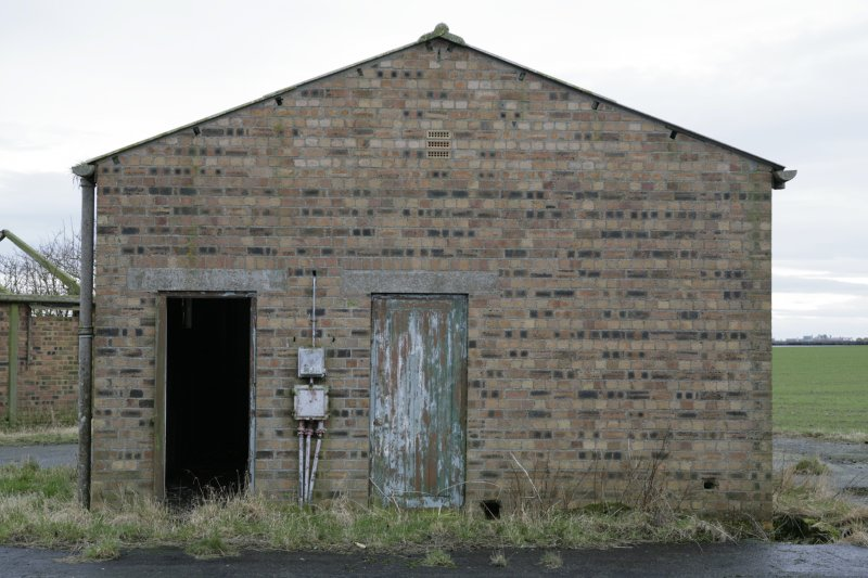 Image of Crail Airfield building 49 from the north