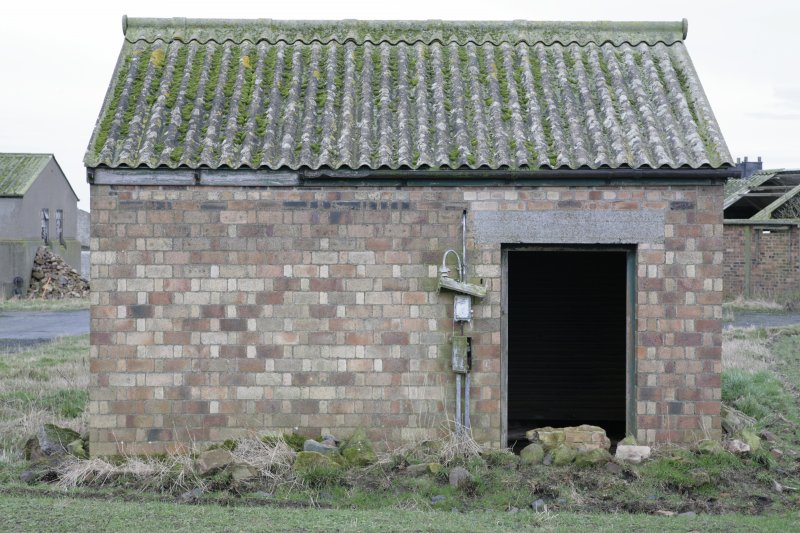 Image of Crail Airfield building 50 from the west