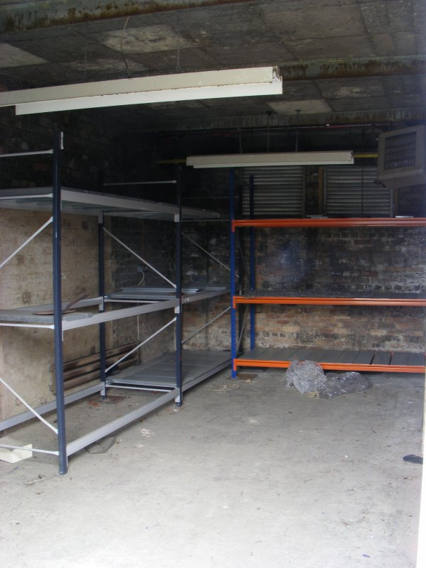 Interior of N half of E extention of Building 10
