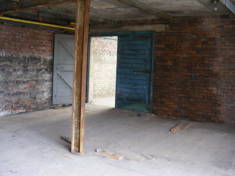 Interior of the S half of E extention of Building 10