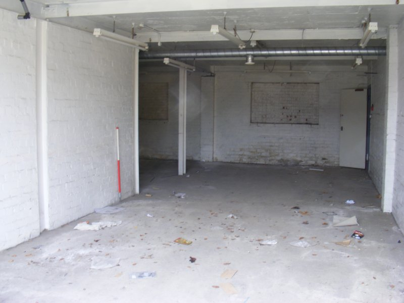 Interior of the N room in the W extention of Building 10