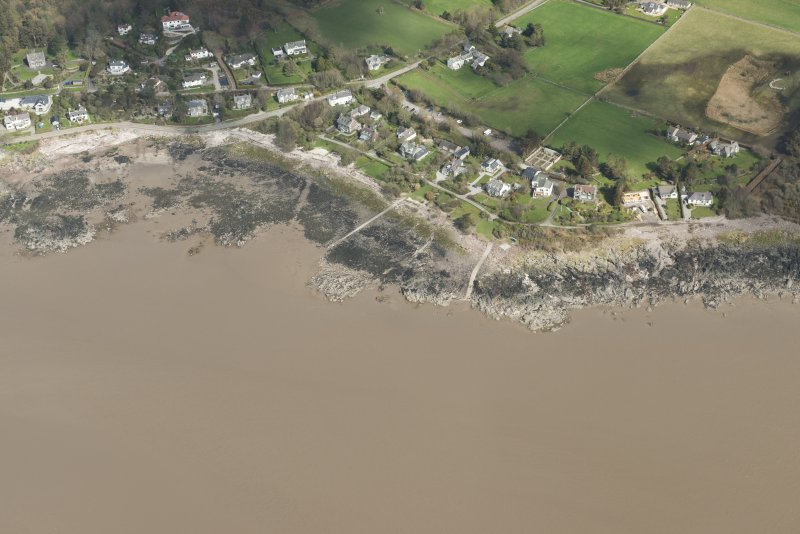 Oblique aerial view of Rockcliffe, looking NE.