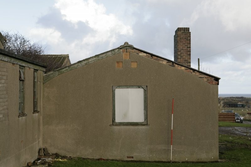Image of Crail Airfield building 89 from the south