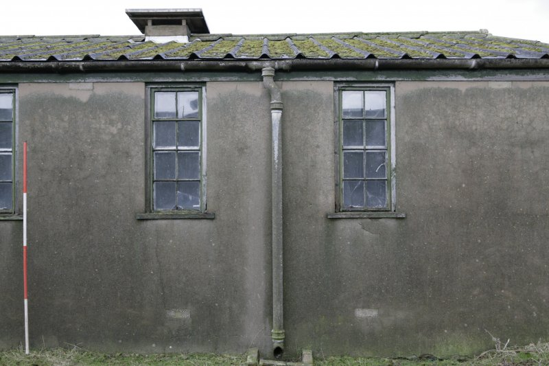 Image of Crail Airfield building 92 from the east
