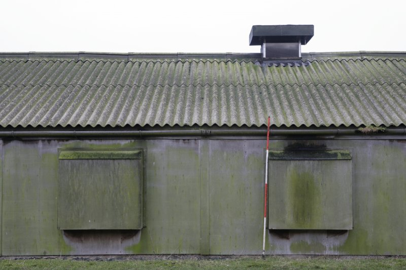 Image of Crail Airfield building 92 from the north