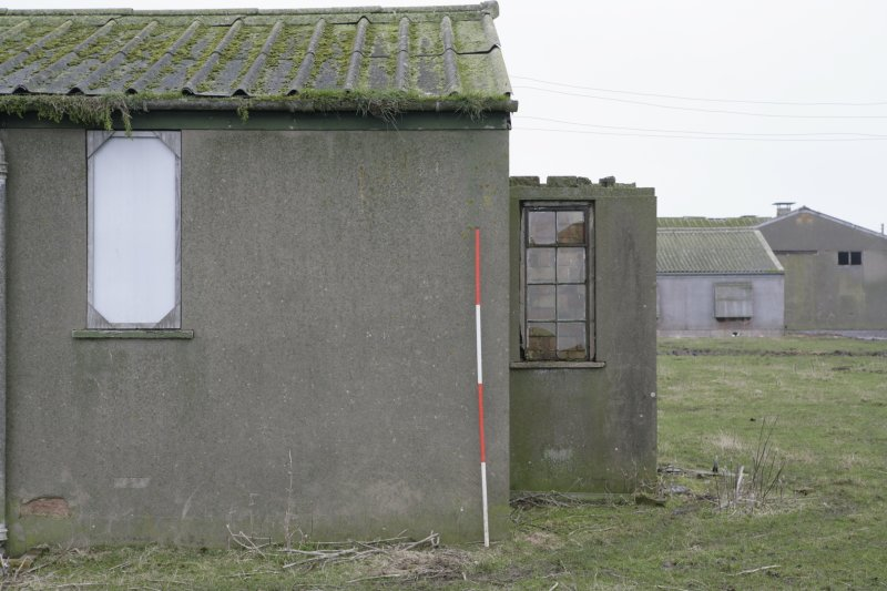 Image of Crail Airfield building 92 from the south