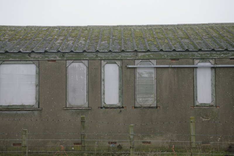 Image of Crail Airfield building 92 from the west