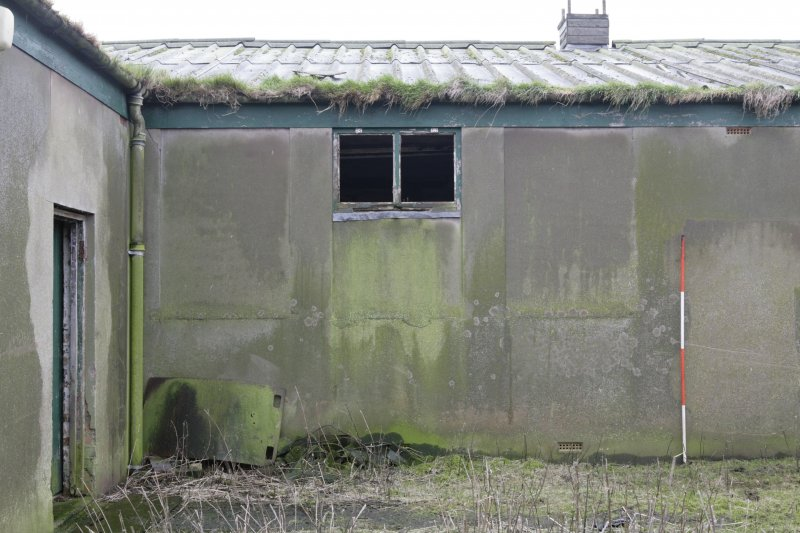 Image of Crail Airfield building 97 from the north