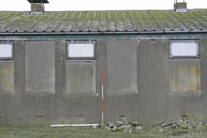 Image of Crail Airfield building 97 from the west