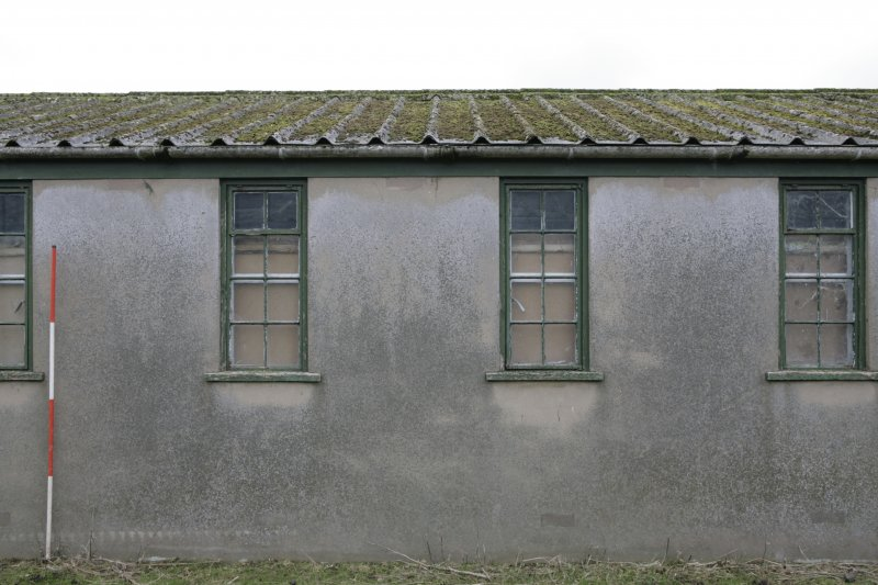 Image of Crail Airfield building 111 from the east