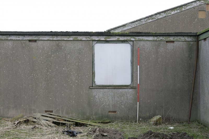 Image of Crail Airfield building 111 from the north