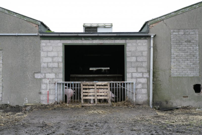 Image of Crail Airfield building 115 from the south