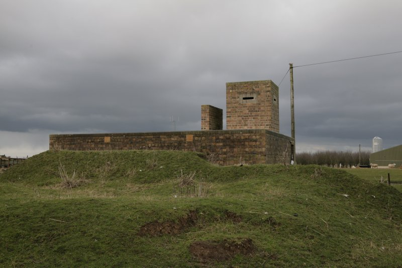 Image of Crail Airfield building 115 from the west