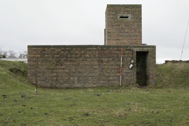 Image of Crail Airfield building 120 from the south