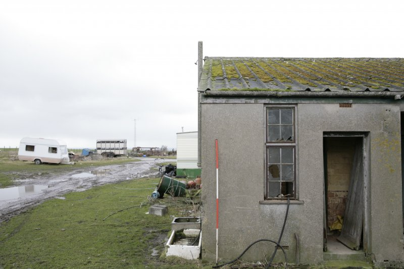 Image of Crail Airfield building 121 from the west