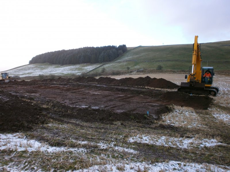 General for watching brief at Barburgh Mill Quarry Extension