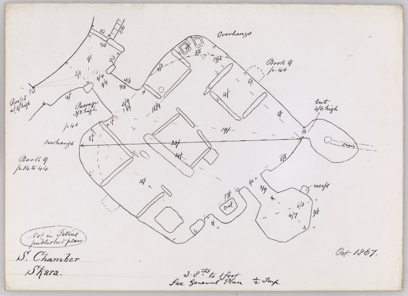 Plan of Skara Brae house 5.