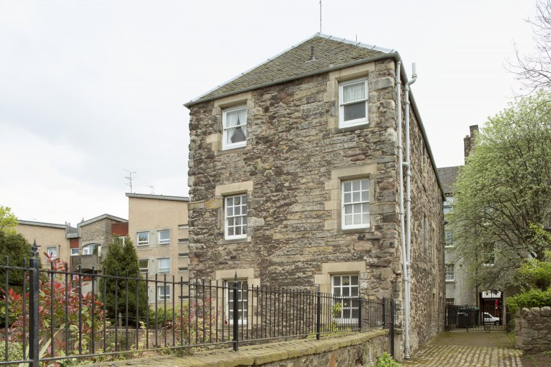General view of Cadell House, Panmure Close, 129 Canongate, Edinburgh, from NW.
