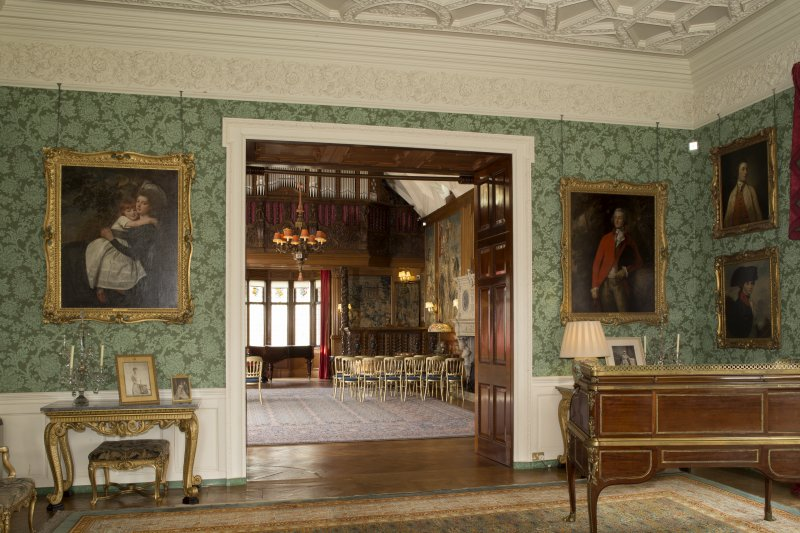 Drawing room. View looking towards gallery.