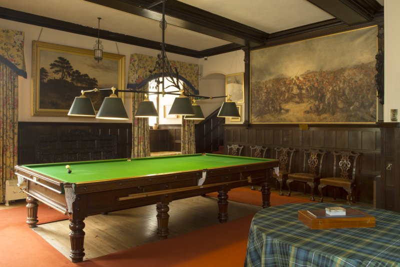 Billiard Room. General view.