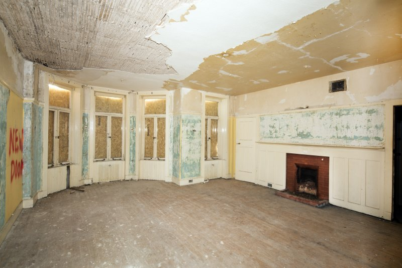 General view of south west ground floor room.