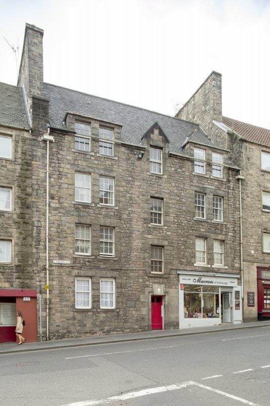General view of Weir's Close, 206 Canongate, Edinburgh, from NE.