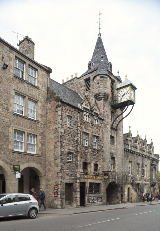 General view of 167-169 Canongate, Edinburgh, from SW.