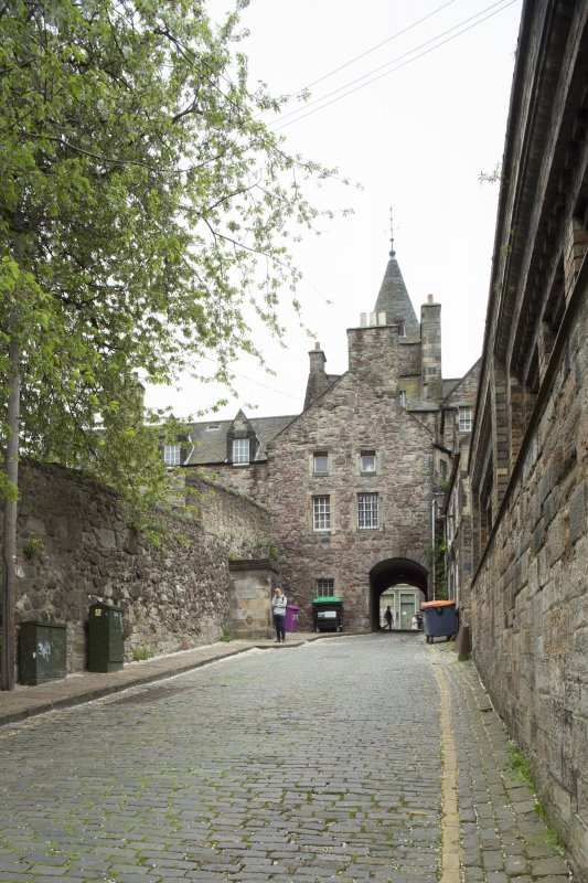 General view of Old Tolbooth Wynd, Edinburgh, from NW.