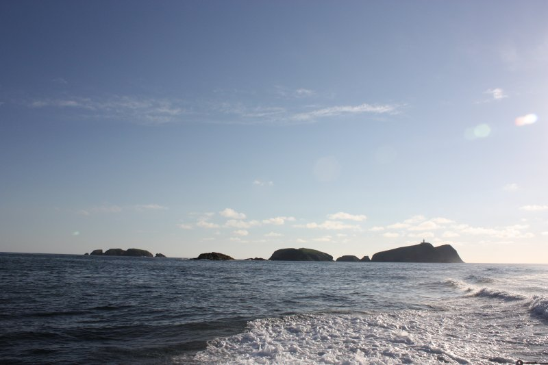 General view of the Flannan Isles, looking NW.